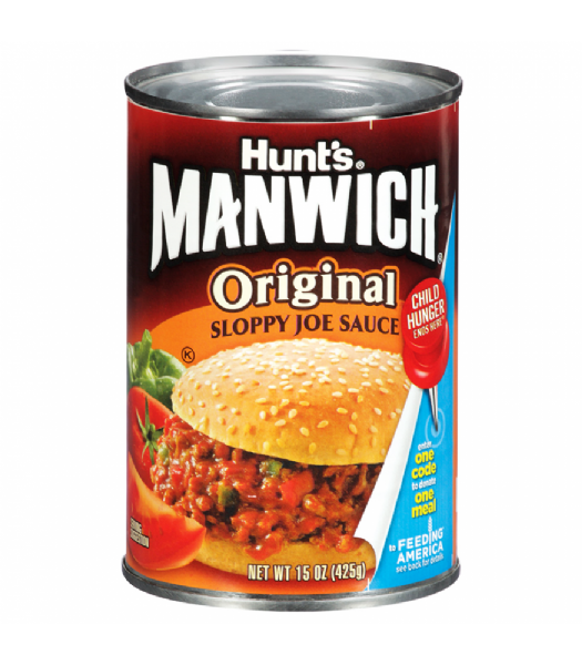 Hunts Manwich Original Sloppy Joe Sauce 15.5oz (425g)
